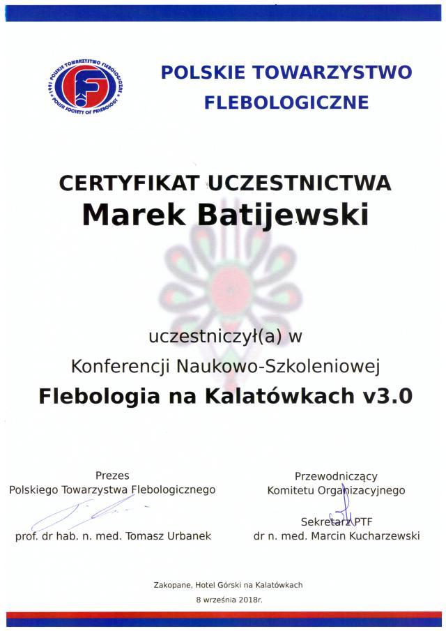 certyfikat-leczenie-zylakow-2018