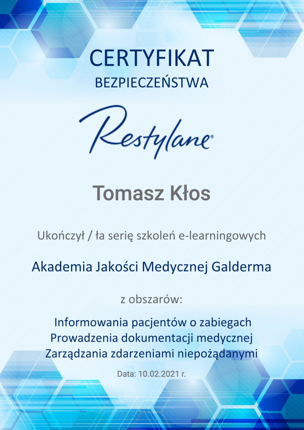 certyfikat-zarzadzanie-dokumentacja-medyczna