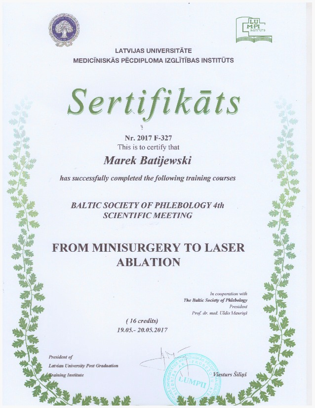 flebologia-certyfikat-dr-batijewski