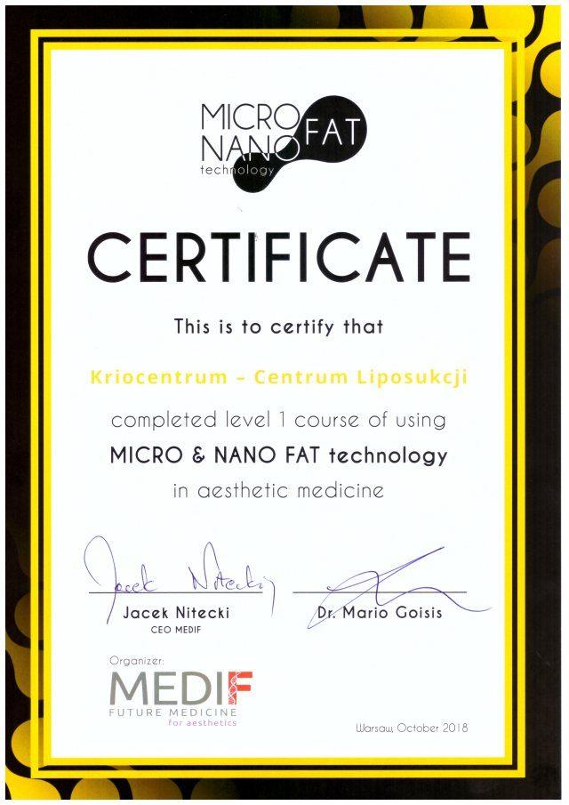 lipotransfer-certyfikat