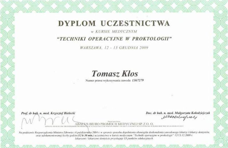 usuwanie-hemoroidow-certyfikat-2