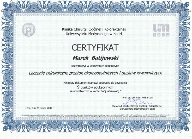 usuwanie-hemoroidow-certyfikat-3