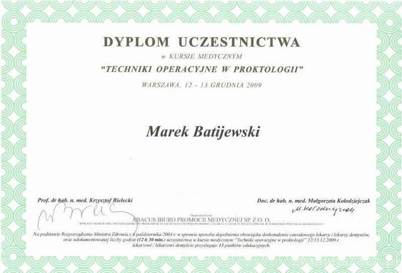 usuwanie-hemoroidow-certyfikat