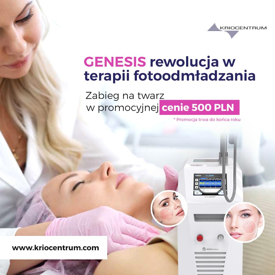 Zabieg GENESIS – rewolucja w odmładzaniu skóry